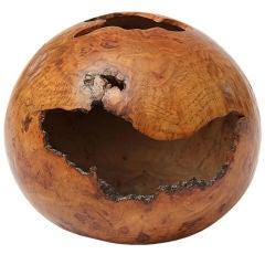 Red Oak Burl Hollowform by David Ellsworth
