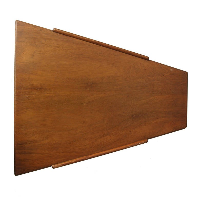 Mid-Century Modern Trapezoidal Table by Edward Wormley For Sale