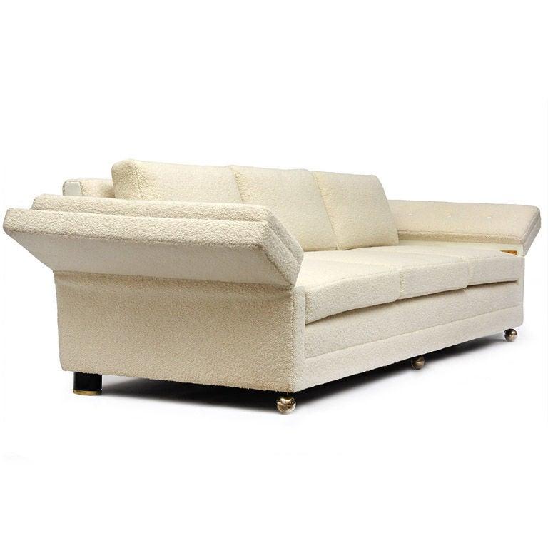 Antique Drop Arm Sofa: Drop Arm Sofa By Edward Wormley At 1stdibs