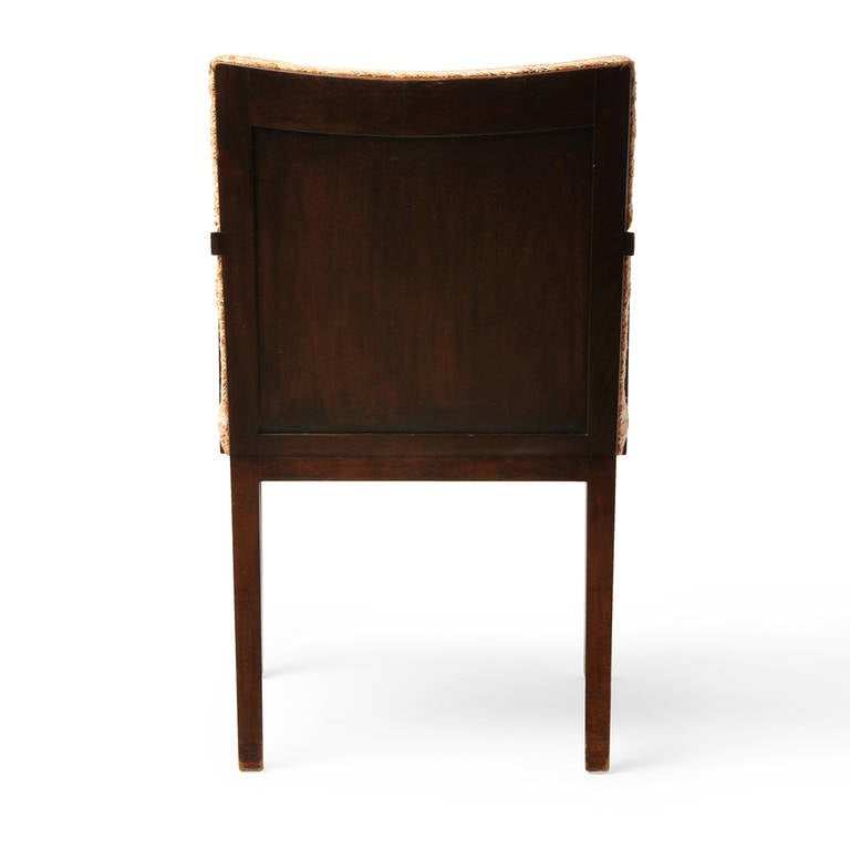Panel back dining chairs by edward wormley for sale at stdibs