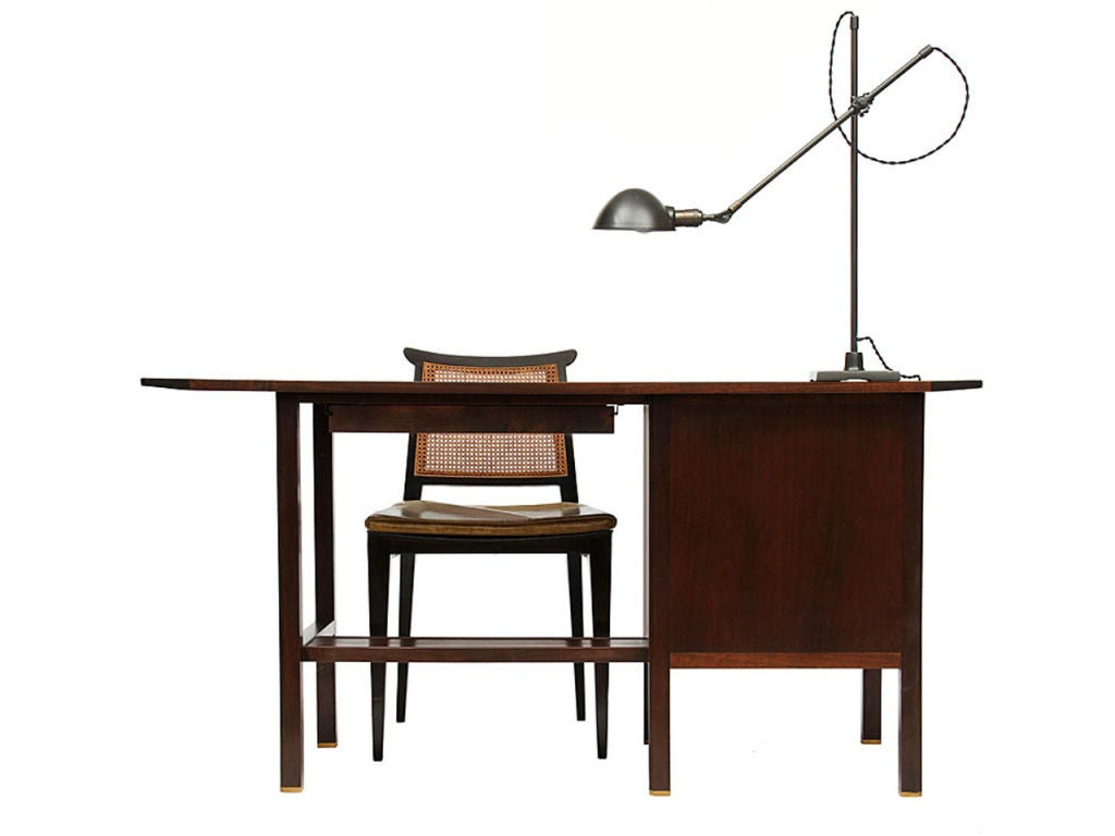 Dunbar Desk by Edward Wormley In Excellent Condition For Sale In New York, NY
