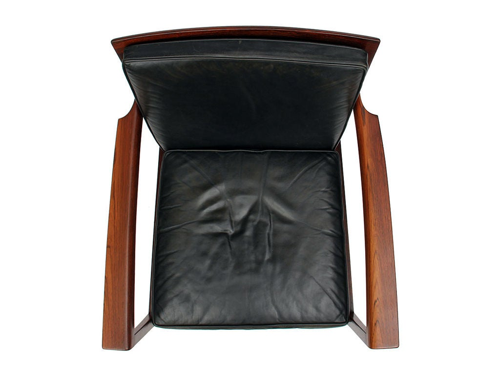 Low Easy Chairs by Ole Wanscher For Sale 1