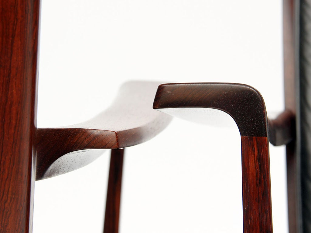 Low Easy Chairs by Ole Wanscher For Sale 3