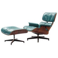 Custom 670 Lounge And Ottoman By Charles And Ray Eames