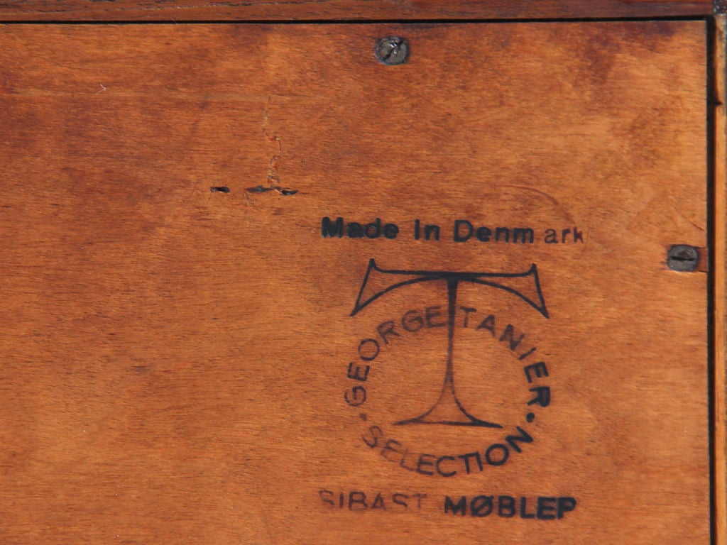 Mid-20th Century Danish Modern Chest of Drawers by Arne Vodder For Sale