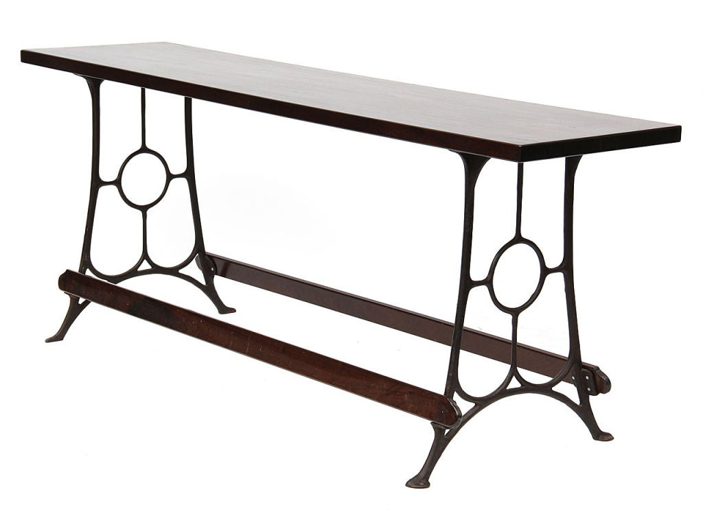 American Cast Iron Freestanding Counter For Sale