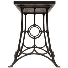 Cast Iron Freestanding Counter