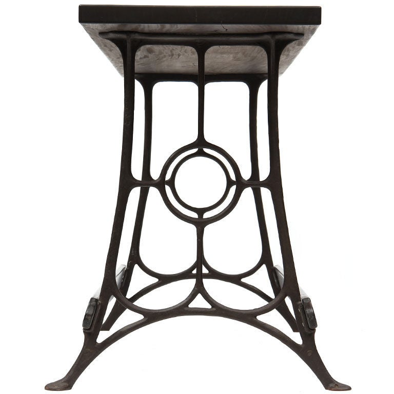 Cast Iron Freestanding Counter For Sale