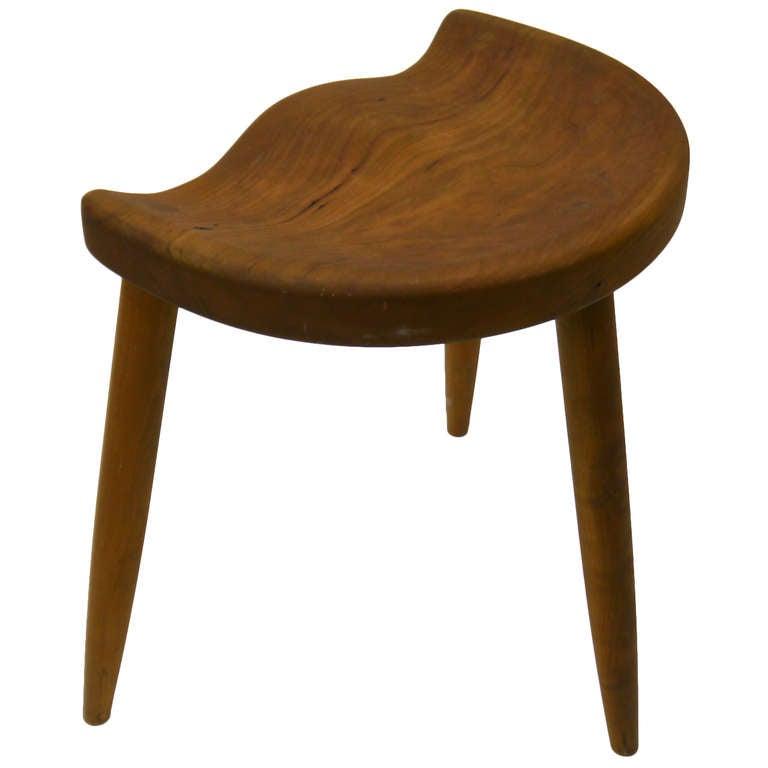 american studio movement saddle stool at 1stdibs