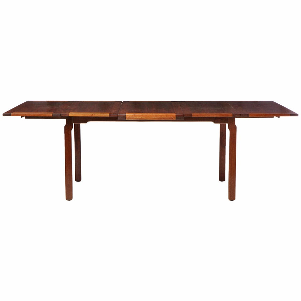 Expanding Dining Table by Edward Wormley