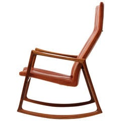Rocking Chair by Helge Vestergaard-Jensen
