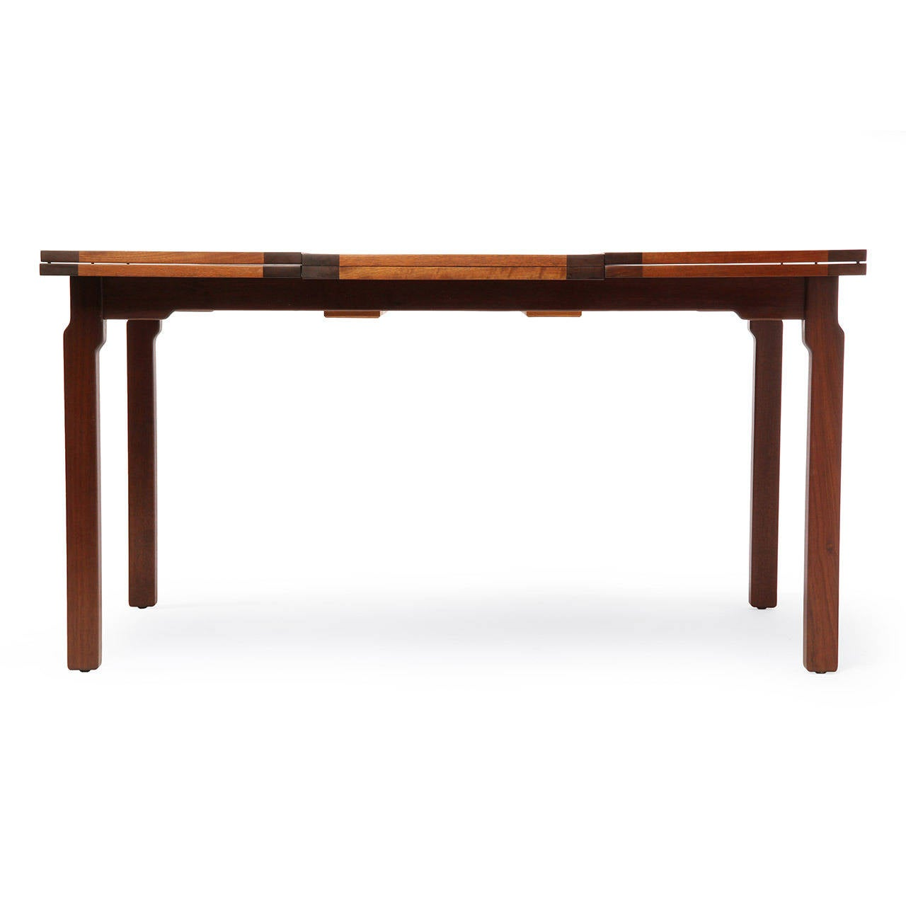 Expanding Dining Table By Edward Wormley At 1stdibs