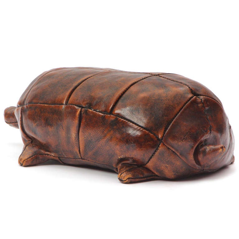 Leather Tortoise At 1stdibs