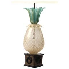 Murano Pineapple Lamp By Barovier