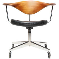 Swivel Chair by Hans J. Wegner