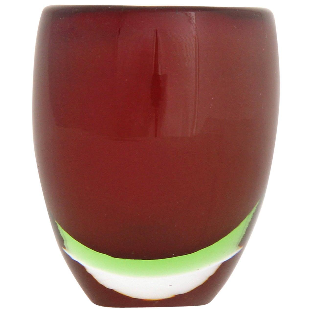 Petite Sommerso Vase by Tapio Wirkkala