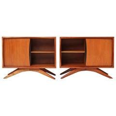 Nightstand Cabinets by Vladimir Kagan