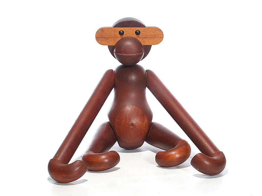 Danish Greatest Ape in the World by Kay Bojesen For Sale
