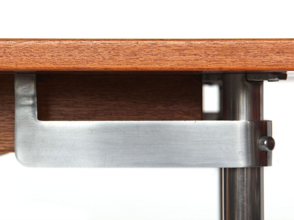 Teak Extension Dining Table by Hans Wegner In Excellent Condition For Sale In New York, NY
