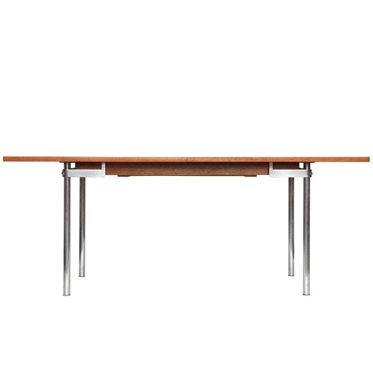 Teak Extension Dining Table By Hans Wegner For Sale At 1stdibs
