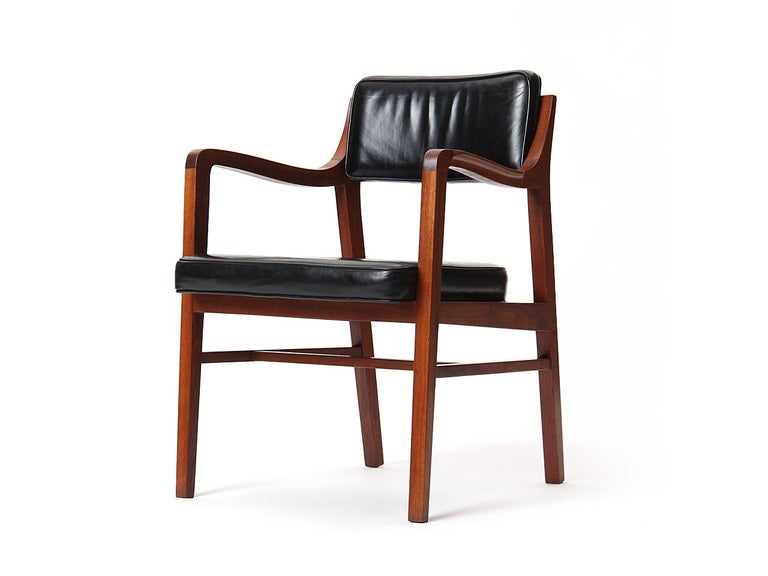 Mid-Century Modern Teak Dining Chair by Edward Wormley for Dunbar For Sale