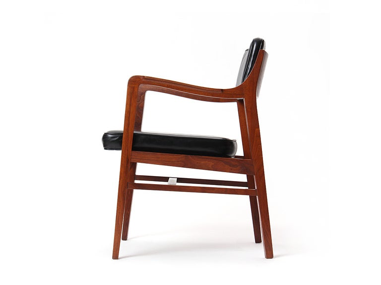 American Teak Dining Chair by Edward Wormley for Dunbar For Sale