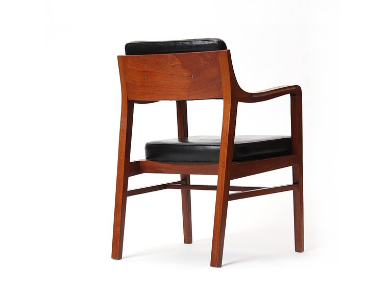 Teak Dining Chair by Edward Wormley for Dunbar For Sale 1