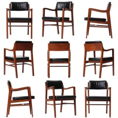 Walnut Dining Chair by Edward Wormley for Dunbar