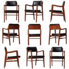 Teak Dining Chair by Edward Wormley for Dunbar