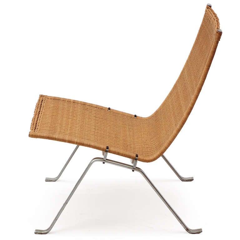 Pk22 Lounge Chair By Poul Kjaerholm At 1stdibs