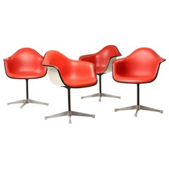 Molded Swiveling Chairs by Charles and Ray Eames