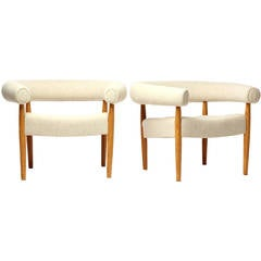 Ring Lounge Chairs by Jorgen and Nanna Ditzel