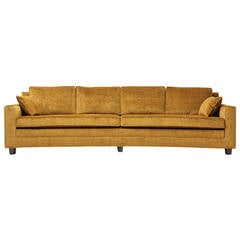Bow-Shaped Sofa by Edward Wormley