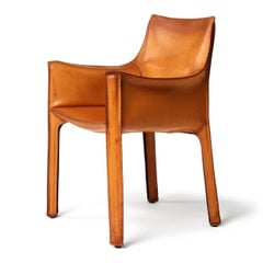 Cab Armchair by Mario Bellini