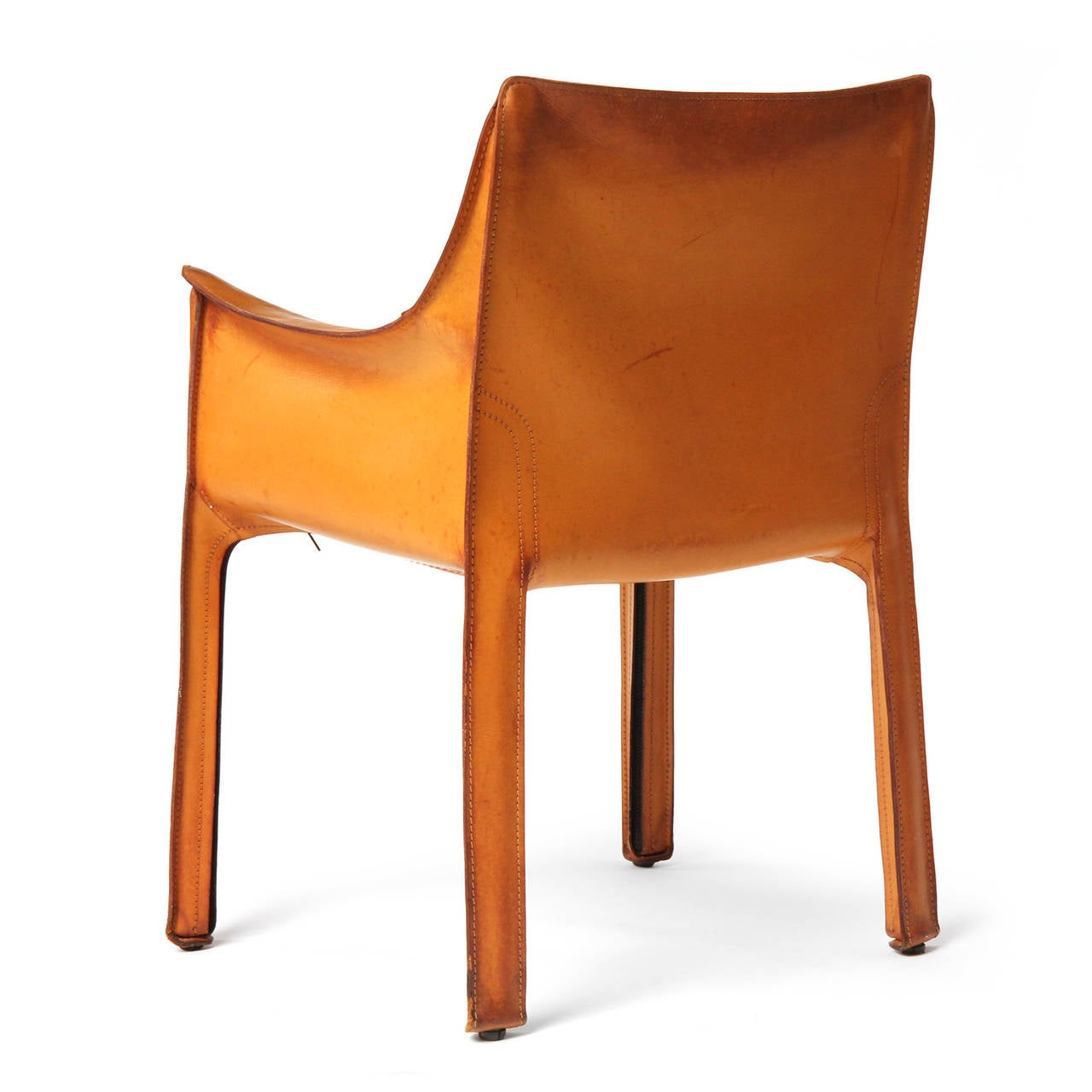 Cab Armchair By Mario Bellini For Sale At 1stdibs