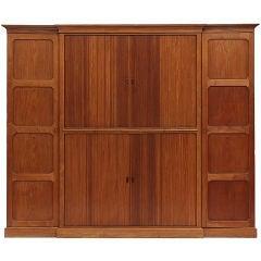 Tambour Door Cabinet by Rudolf Rasmussen