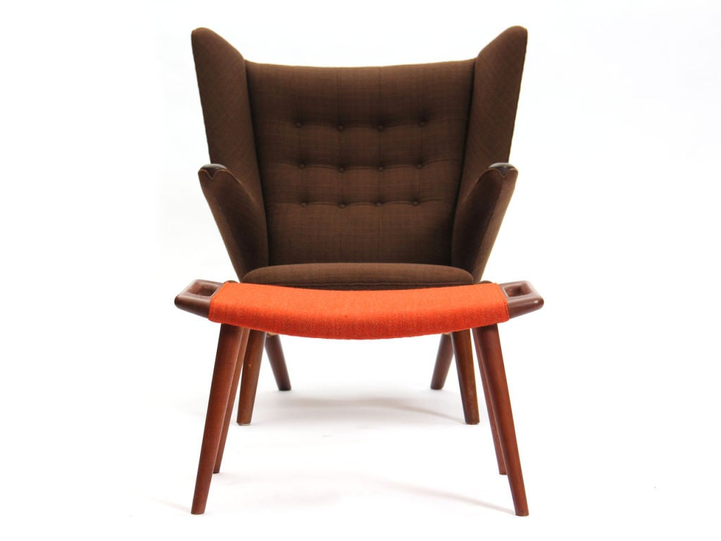 The Papa Bear Chair By Hans Wegner And Ap Stolen At 1stdibs