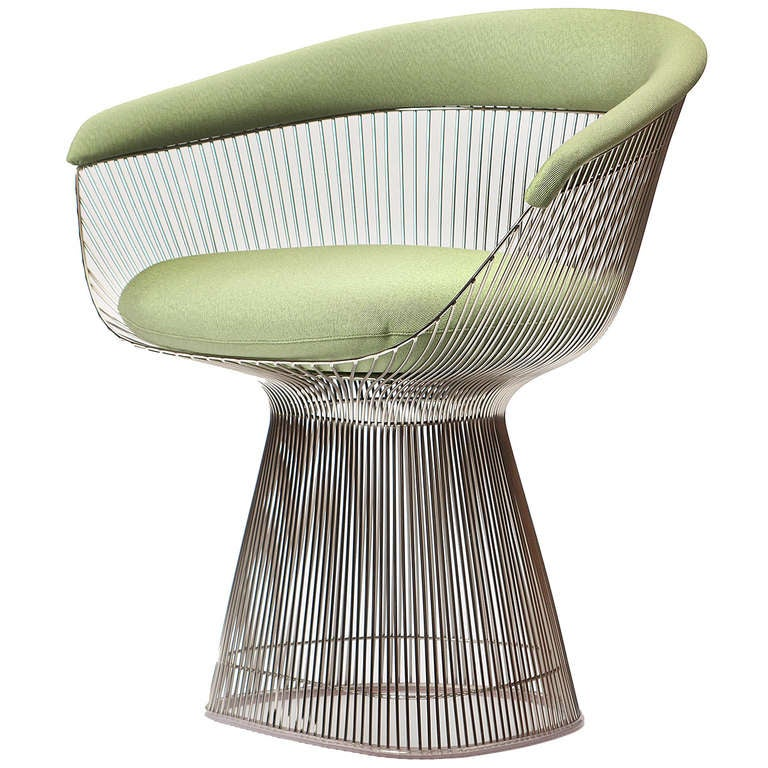 Armchair By Warren Platner For Sale At 1stdibs