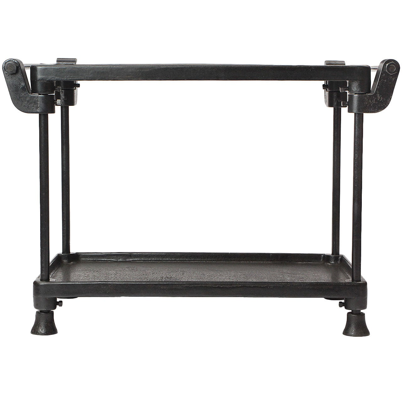 Two-Tiered Iron Table by New Britain Machine Company