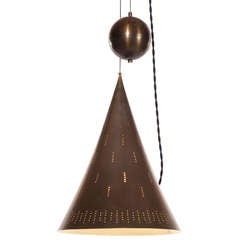 The Witches Ball and Hat Fixture by Paavo Tynell