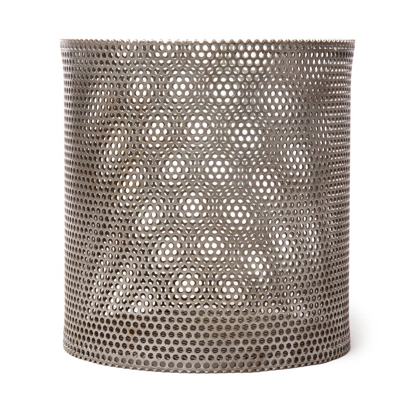 Industrial Waste Basket by Wyeth For Sale