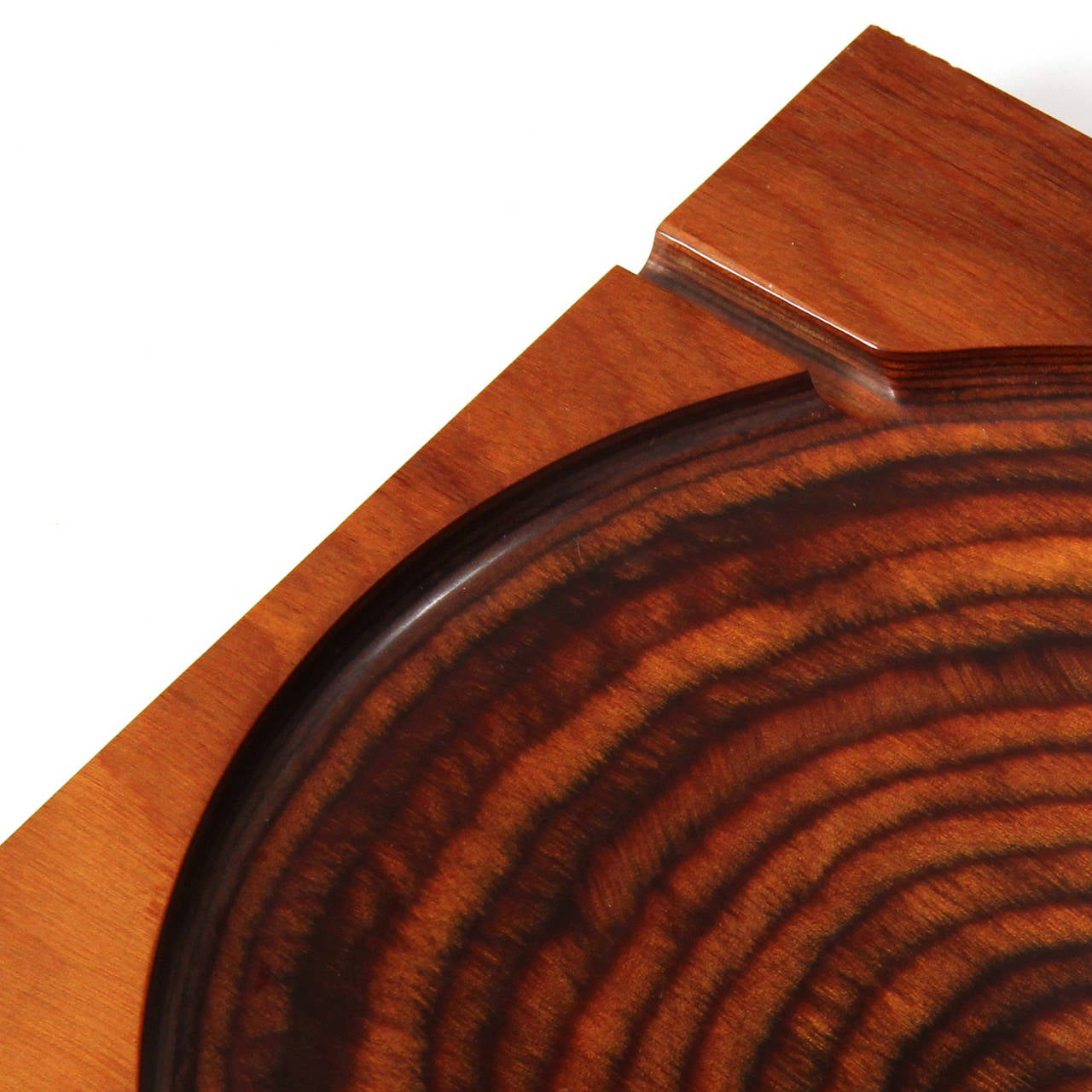 Mid-20th Century Modernist Ashtray by Shur Wood For Sale