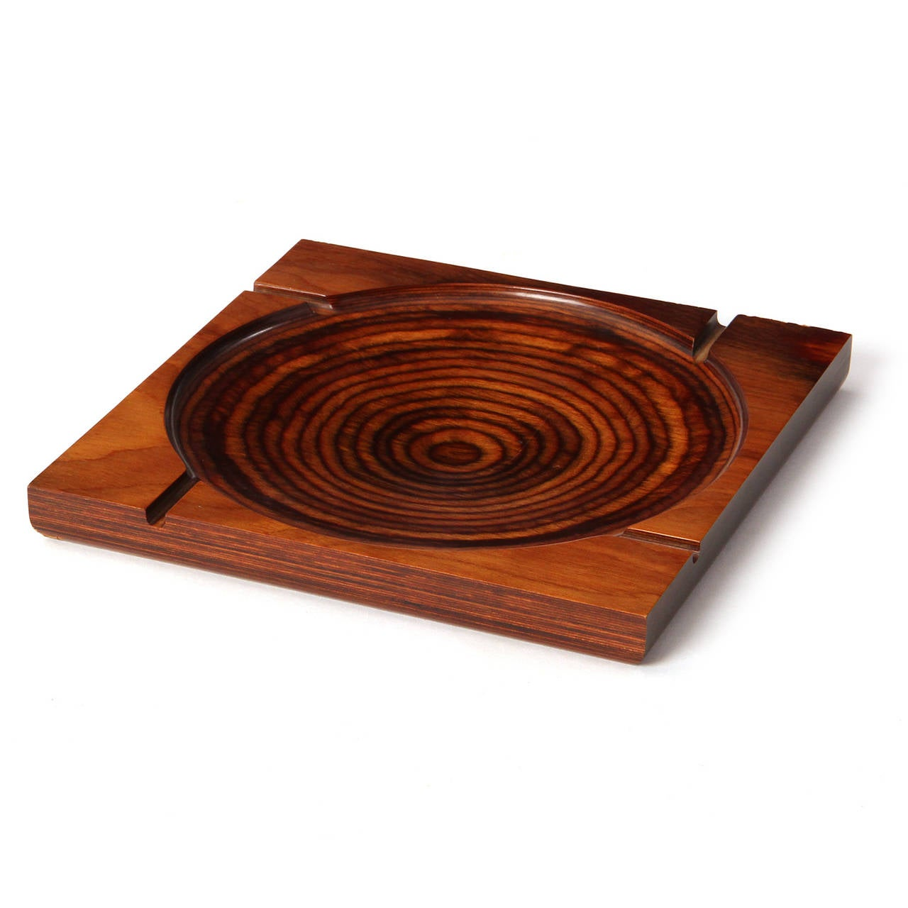 Mid-Century Modern Modernist Ashtray by Shur Wood For Sale