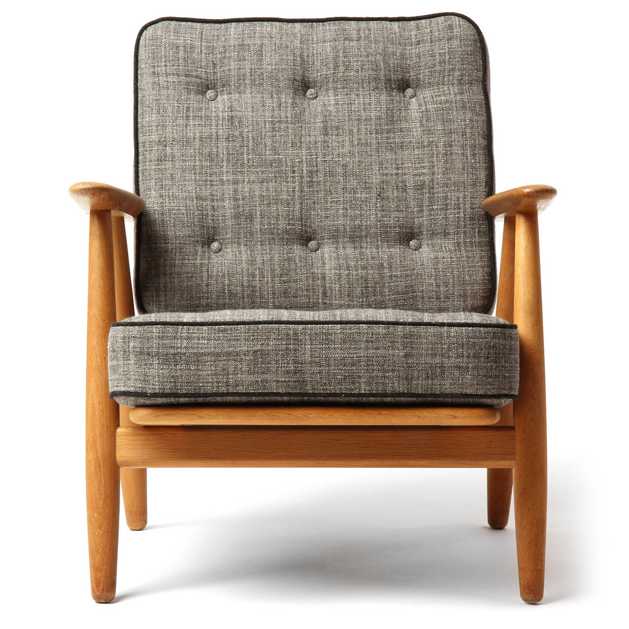 Cigar Armchairs by Hans J Wegner at 1stdibs