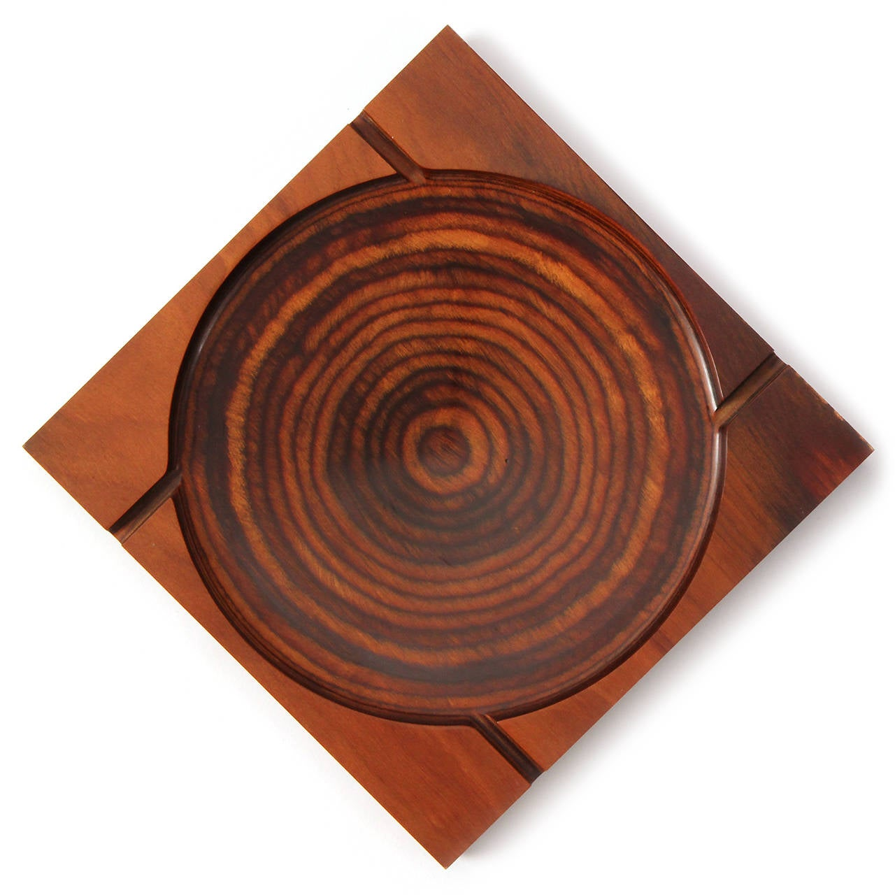 Modernist Ashtray by Shur Wood In Good Condition For Sale In New York, NY