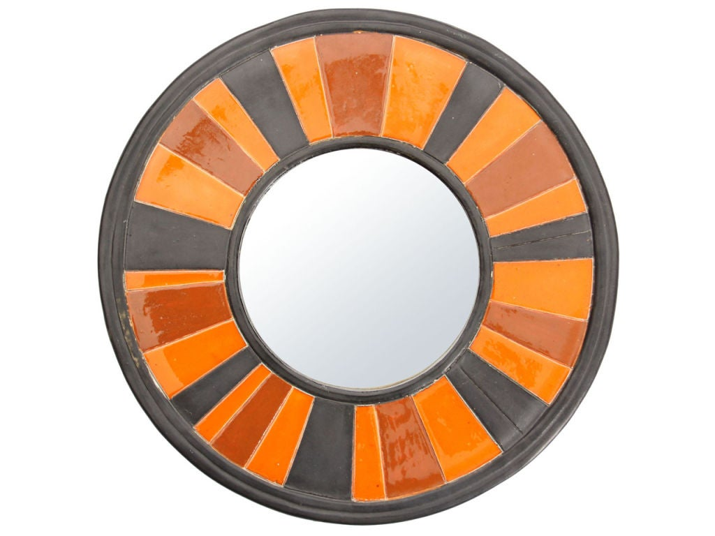 Round ceramic mirror (6
