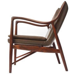 Rio Rosewood 45 Chair By Finn Juhl/Niels Vodder