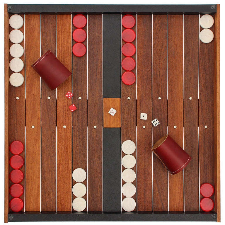 This is an image of Crafty Printable Backgammon Board