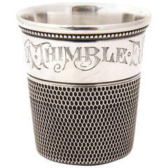 Sterling Shot Glass