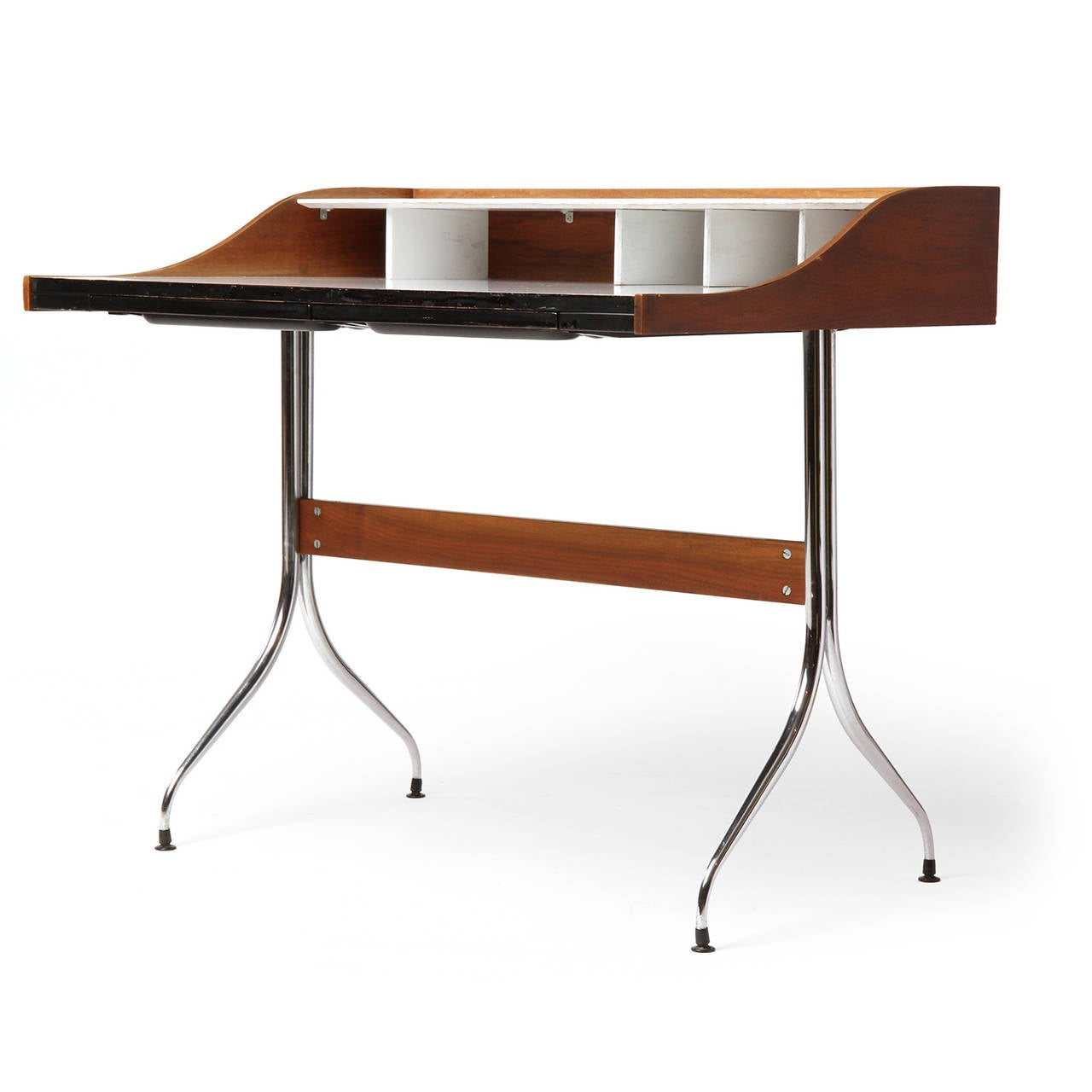 swag leg desk by george nelson for sale at stdibs - swag leg desk by george nelson